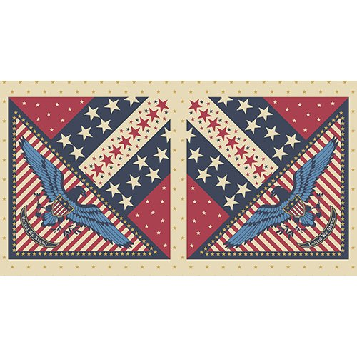Patriotic by Quilts of Valor Foundation for Andover Fabric (panel)  ~A 7786 B~