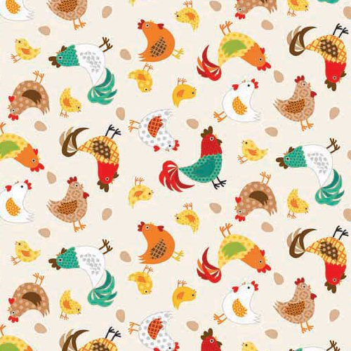 Jolly Farm for Andover Fabric ~TP 1331 color 1~