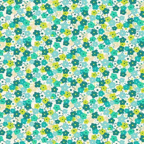 Lime Twist by Makower UK for Andover Fabric ~TP-1416-Q~