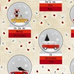 Around Town Christmas by DT-K Signature for Studioe Fabrics~3719 44~