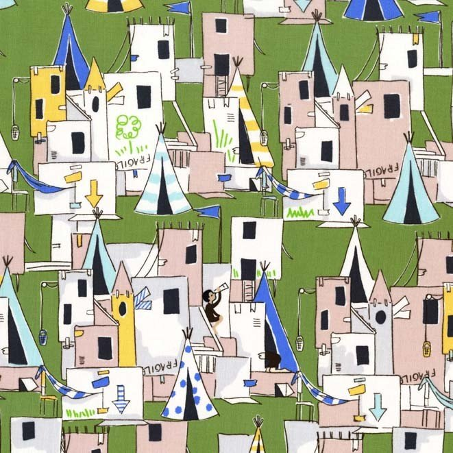 Best Fort Ever for Michael Miller Fabrics~DC5818 GREE D~