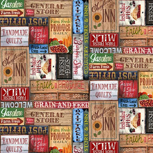 Country Paradise for Blank Quilting ~B-9356-35~
