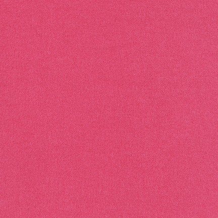 Flannel Solid by Robert Kaufman ~Hot Pink 1163~