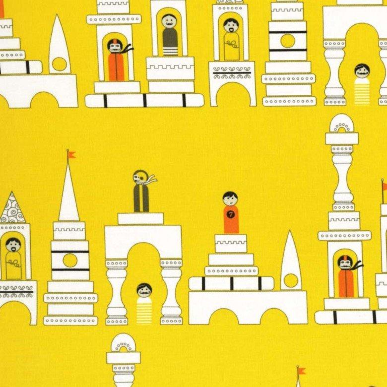 Monsieur Blocks for Michael Miller Fabrics~D6096 Yell D~