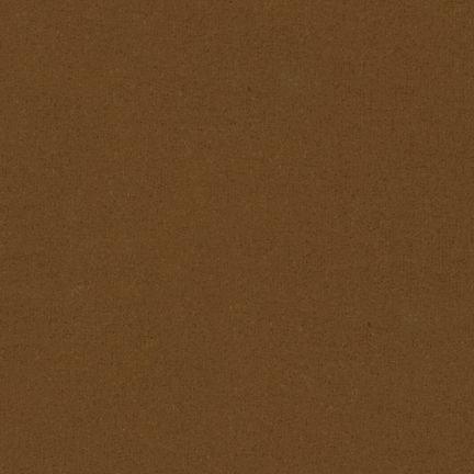 Flannel Solid for  Robert Kaufman~BROWN~