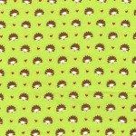 Hedgehog Heaven on Flannel for Michael Miller Fabrics~FD4330-Lime-D~