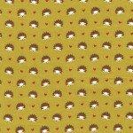 Hedgehog Heaven on Flannel for Michael Miller Fabrics~FD4330-Oliv-D~