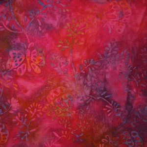 Princess Mirah Design for Bali Fabrics Inc.~MK 2 Pink Flambe~