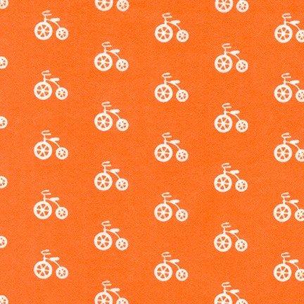 Cozy Cotton for Robert Kaufman ~SRKF-17650-8 orange~