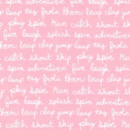 Cozy Cotton for Robert Kaufman ~SRKF-17652-01 pink~
