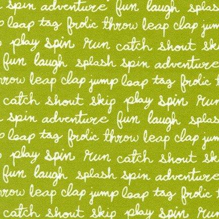 Cozy Cotton for Robert Kaufman ~SRKF-17652-47 Grass~