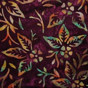 Princess Mirah Design for Bali Fabrics Inc.~TU 2 Hollyhock~