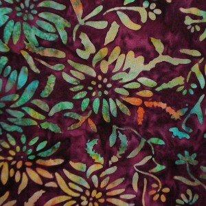 Princess Mirah Design for Bali Fabrics Inc.~TU 3 Holly Hock~