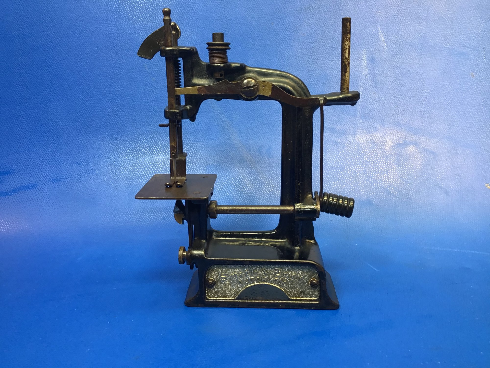 Rare Smith and Egge Toy Sewing Machine