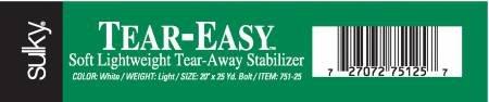 Sulky Tear Easy 75125 20in.