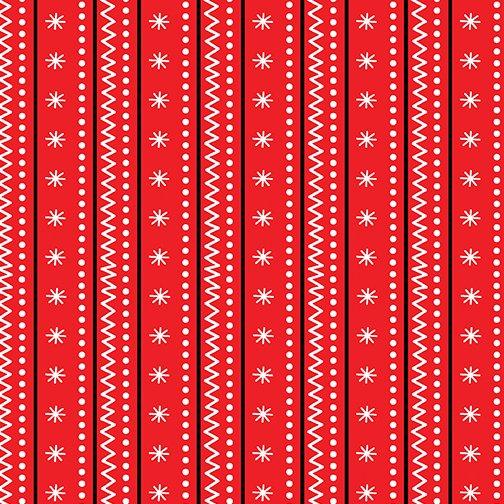 Arctic Stripe Red