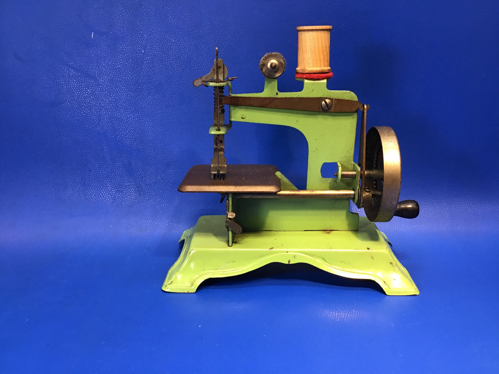 Green Toy Sewing Machine