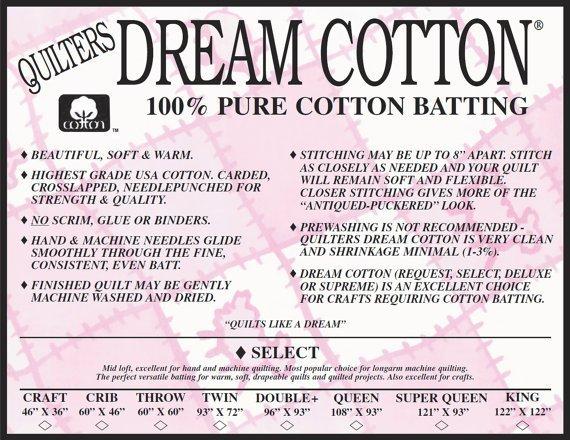 Dream Cotton Select Crib (60 X 46)