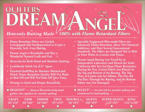Dream Angel Select Crib White (46 x 60)