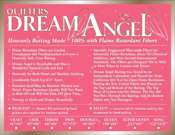 Dream Angel Select Twin White (93 x 72)