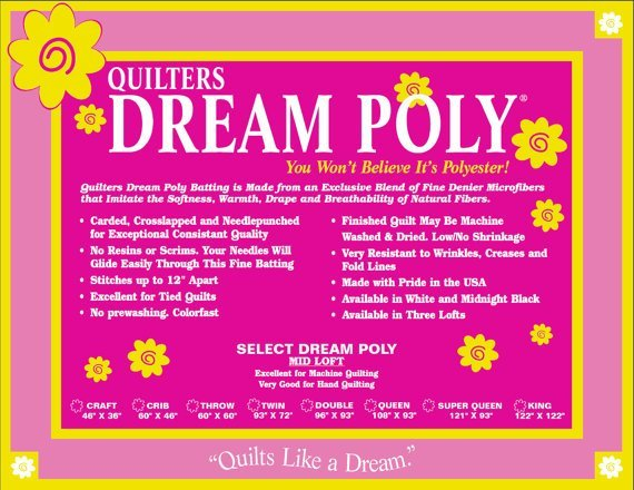 Quilters Dream Poly Select Twin (93in X 72in)