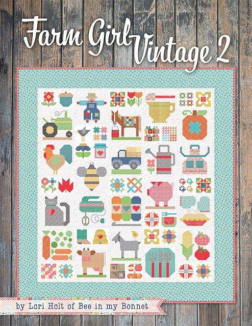 Vintage Farm Girl 2