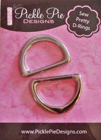 Pickle Pie Designs Sew Pretty D-Rings 1in