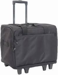 Blue Fig Wheeled Travel Case 19 Color Option Black
