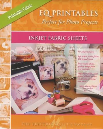 EQ Printables Inkjet Fabric Sheets 6/pkg