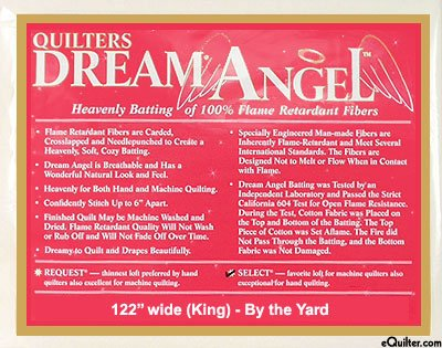 Dream Angel Select King White (122 x 122)