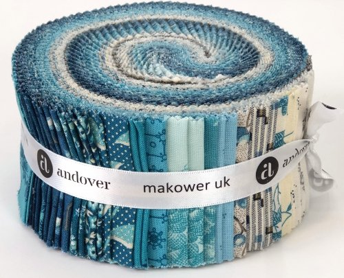 Royal blue by Laundry Basket Jelly Roll
