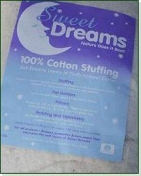Sweet Dreams Cotton Stuffing