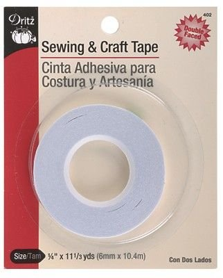 Sewing & Craft Tape 1/4 x 11yds