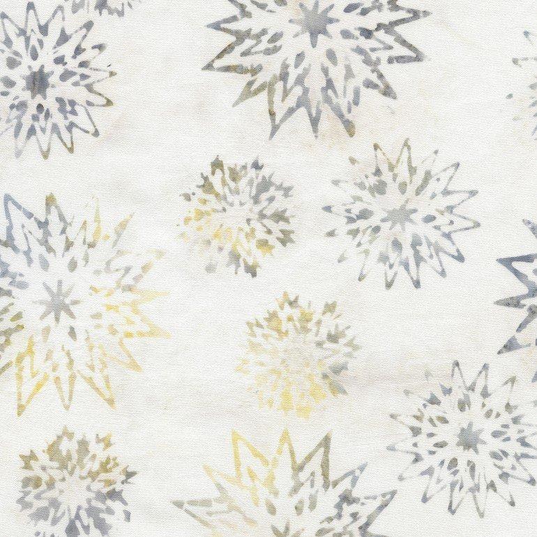 Snowflake Mix Batik B4007 Ice