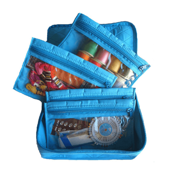 Yazzii 4 Pocket Organizer - Asst. Colors