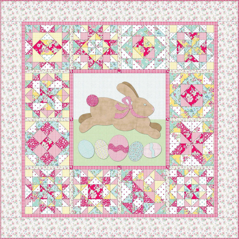 "Cottontail ""'Sampler Quilt Kit"