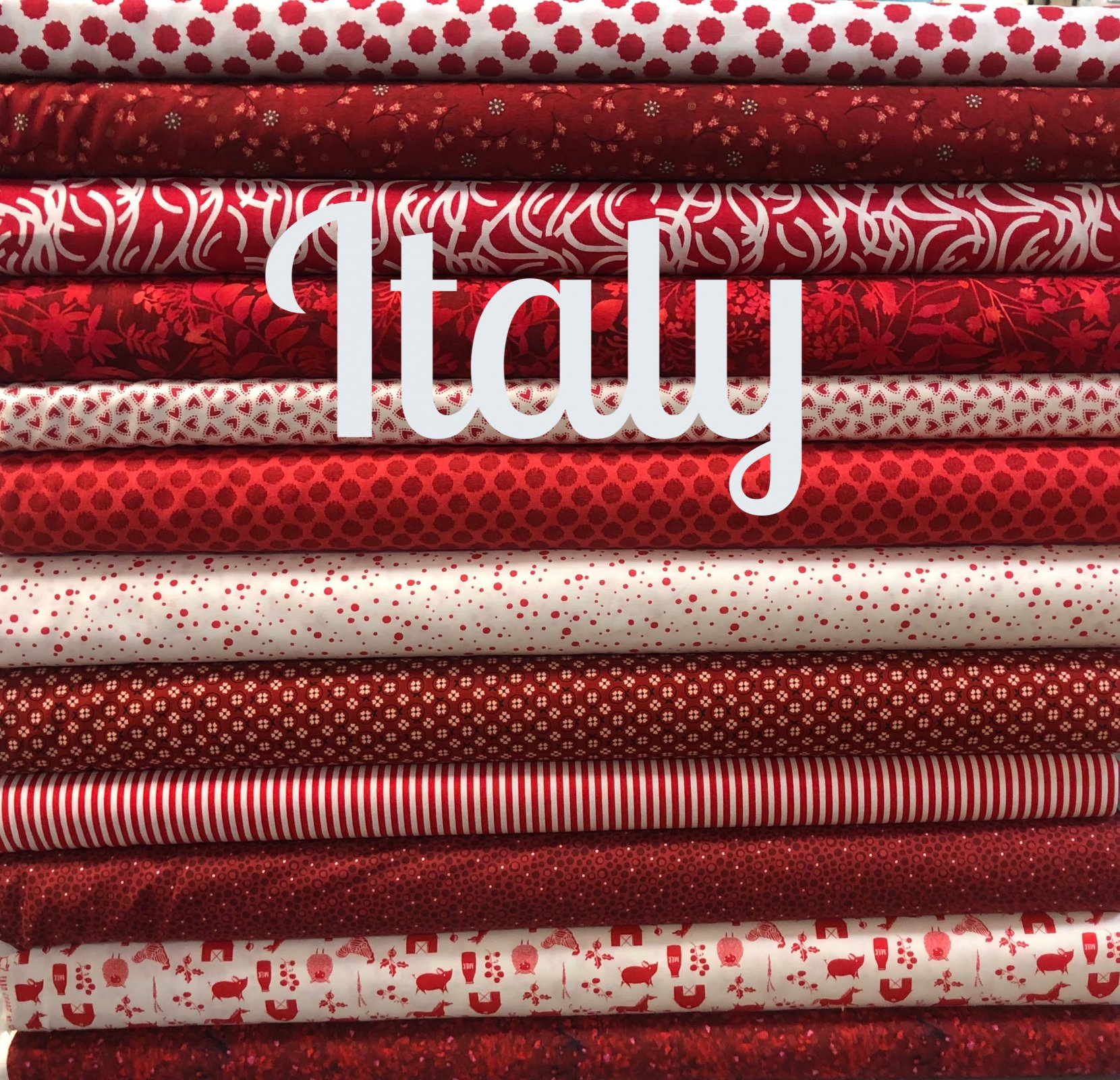 International Mystery Quilt Along: Italy-April