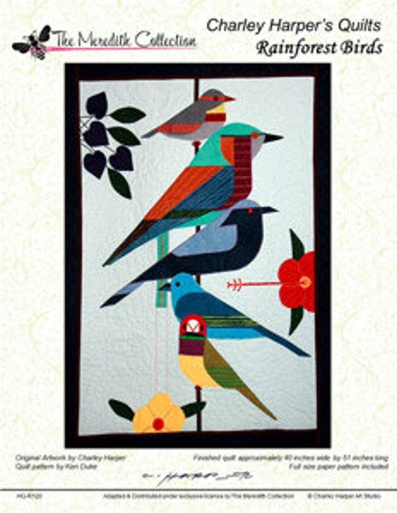 Charley Harper Rainforest Birds