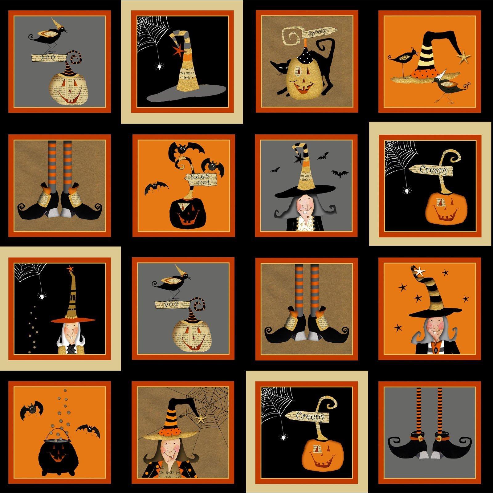 Witchy Blocks (Halloween)