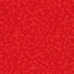 Fabri-Quilt Red Floral 112 26054