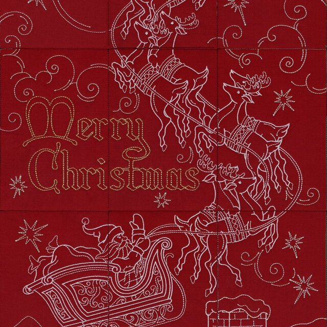 OESD And To All a Good Night Machine Embroidery CD