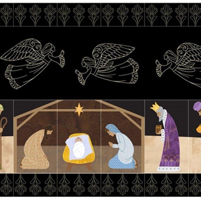 OESD Nativity Tiling Scene Machine Embroidery CD
