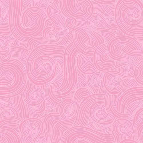 Studio E Just Color Swirl  1351 Carnation