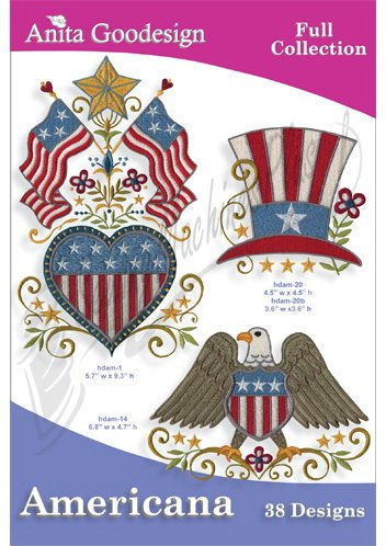 Anita Goodesign Full Collection Americana