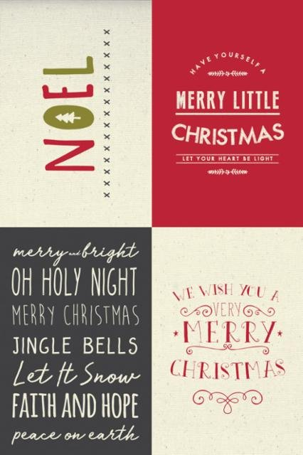 Moda Sweetwater Printworks Holiday Christmas 5765-11P Sampler Canvas