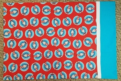Cat In The Hat Pillowcase - Red