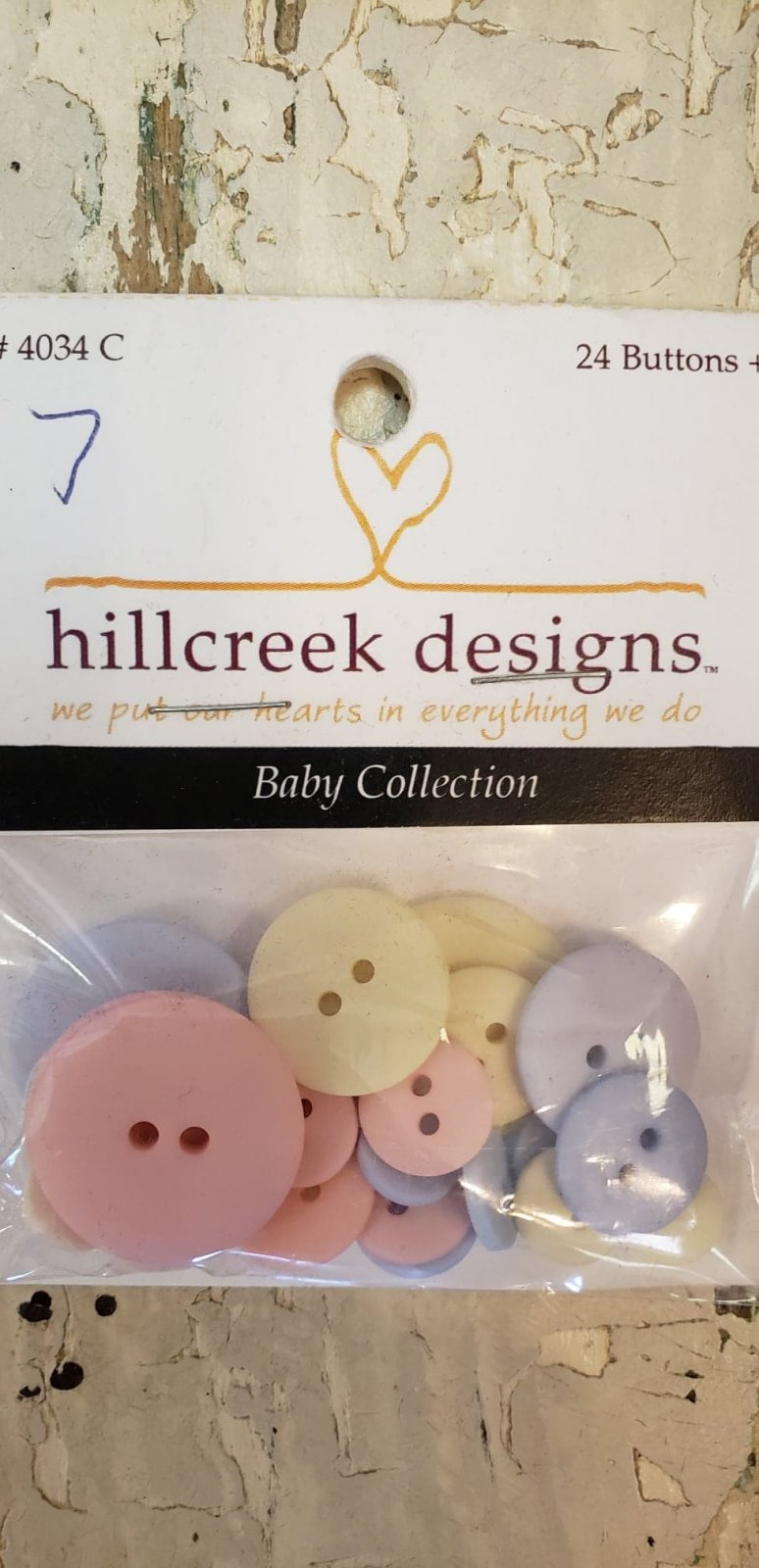 Buttons-Baby Collection
