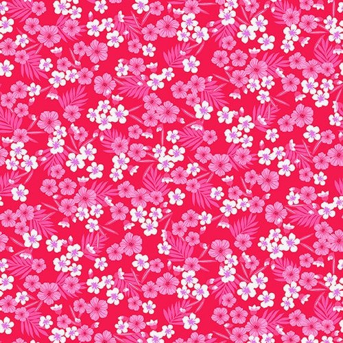Studio E Flamingo Beach 5030-28 Dark Pink