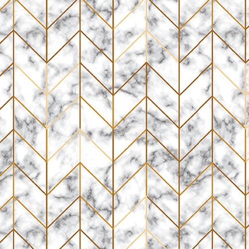 Studio E Watercolor Sketchbook Marble Geo 5097-49 Gray/Gold