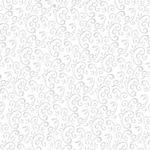 Studio E Snow Place Like Home Swirl 5168-09 White
